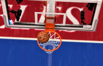 NBA 2K14 Dark Spalding Ball Mod