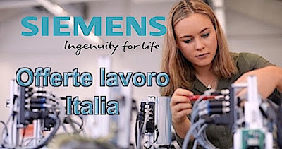 Offerte lavoro Siemens italia (scrivere che passione e se la tua passione è scrivere, scrivi)