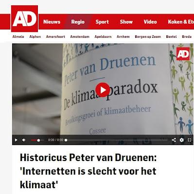 de Klimaatparadox in het Algemeen Dagblad (het AD)