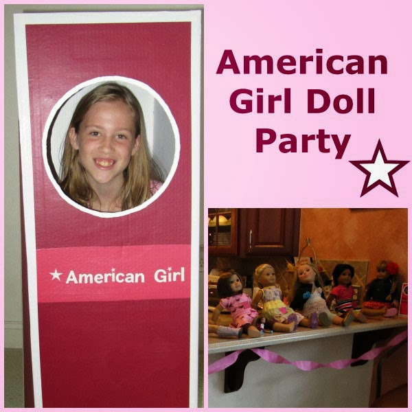 controlling craziness american girl birthday party