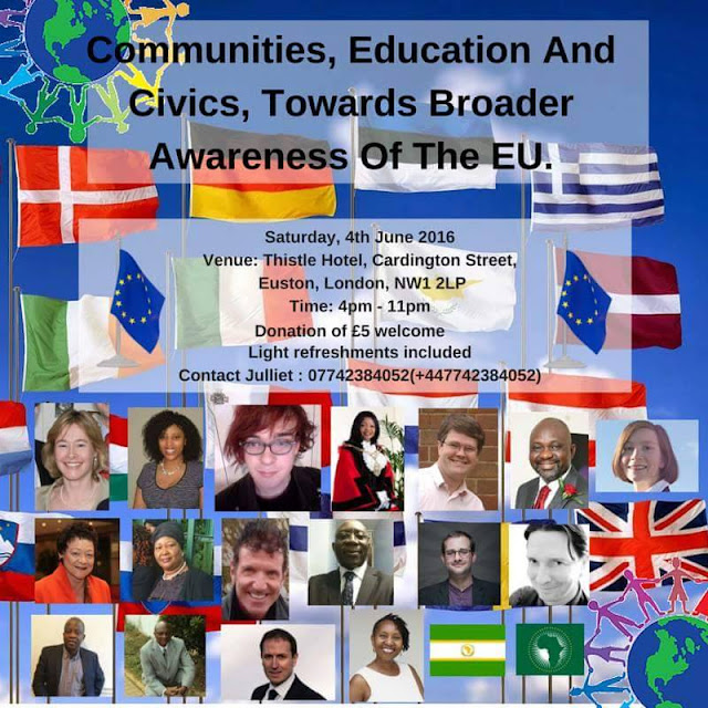 Julliet Makhapi Founder UK Africa Diaspora Charity Pageant 2016