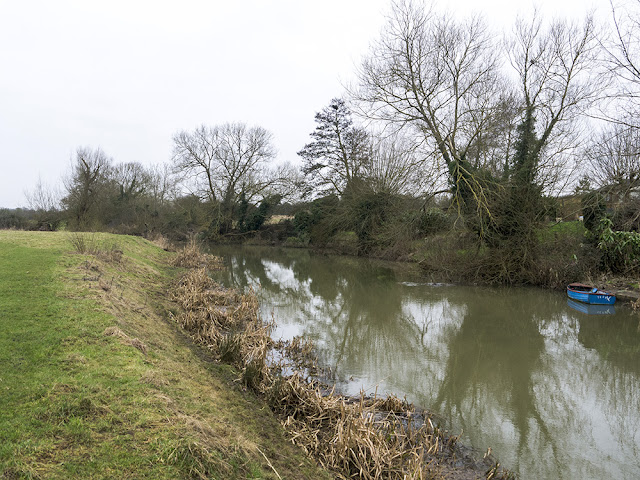 River Ouse at Tomb Meadow