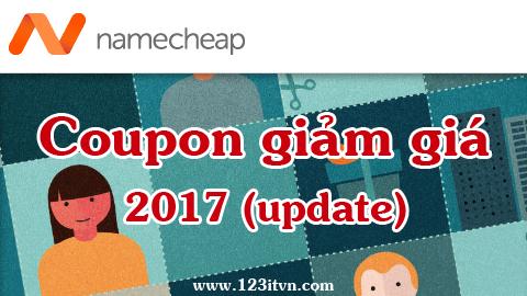 Namecheap Coupon : share mã giảm giá namecheap 2017