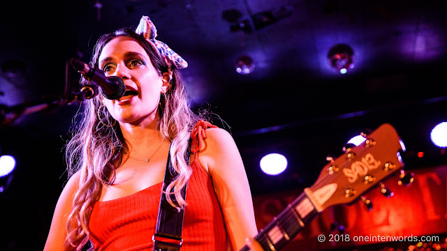 Speedy Ortiz at The Legendary Horseshoe Tavern on May 14, 2018 Photo by John Ordean at One In Ten Words oneintenwords.com toronto indie alternative live music blog concert photography pictures photos