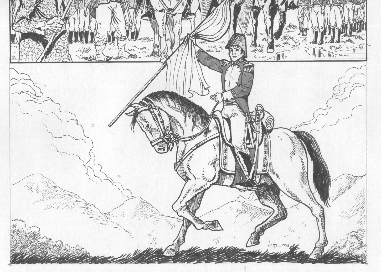 LAMINAS COLEGIALES PARA IMPRIMIR Y RECORTAR: Batalla de