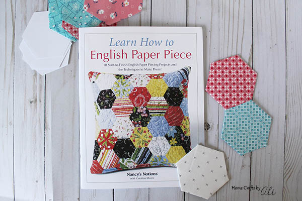 Step By Step Tutorials to EPP sewing book