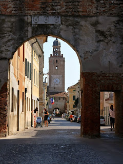The western gate of Castelfranco Veneto