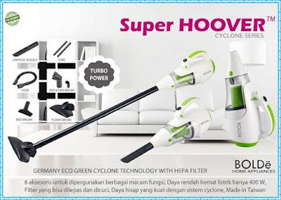 Jual Vacuum Cleaner Super Hoover Bolde 2 In 1 Murah Bolde Indonesia Bergaransi