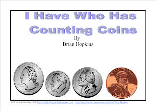 Coins, Counting Coins, Penny, Nickle, Dime, Quarter