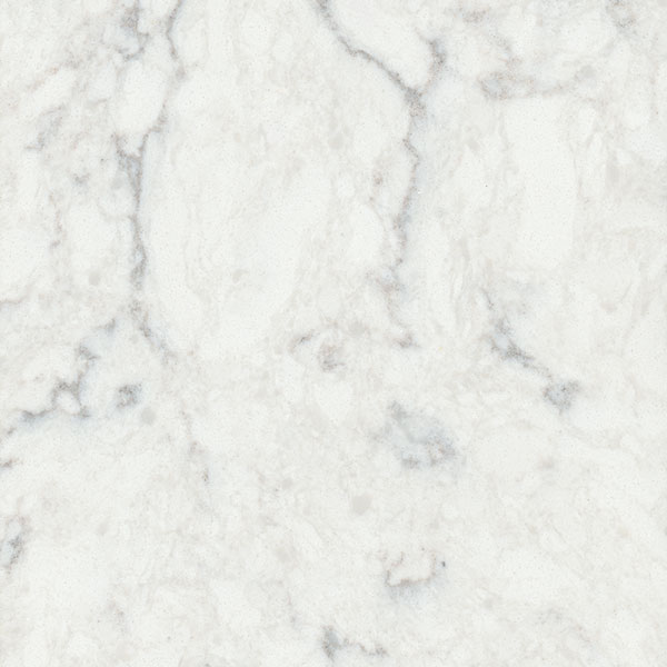 Quartz Countertop in Kitchen: Viatera - Minuet