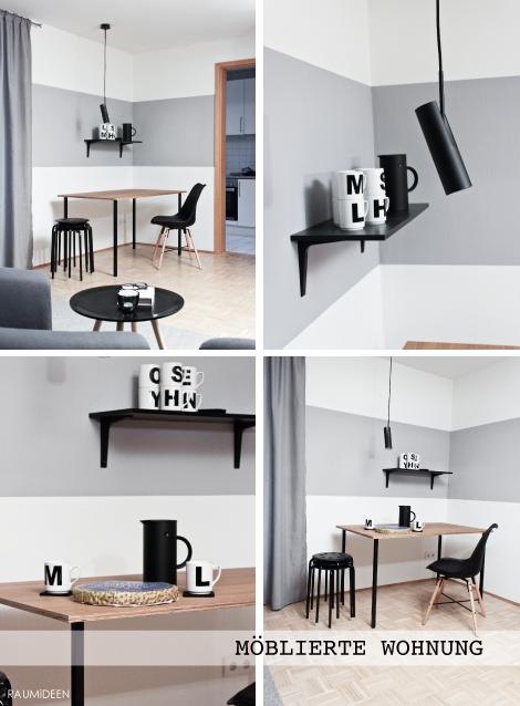 Innenarchitektur - ein Einzimmerapartment gestalten.