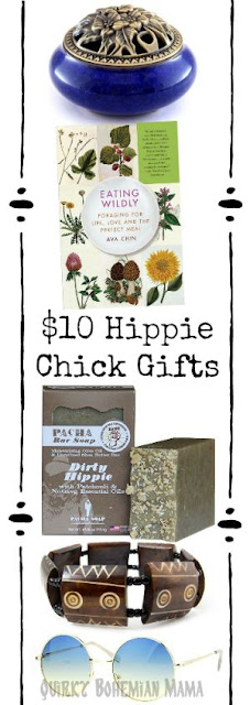 What to buy the hippie chick in your life. 10 Gifts Under $10 For Hippie Chicks. #hippie #christmas Hippie gift guide. Gifts for hippies Hippie gifts under $10. Hippie stocking stuffers. Hippie bohemian christmas gifts.   gifts for a hippie mom, gifts for free spirits, gifts for boho girl, what gifts do hippies like, gifts for hippie wife, gifts for hippie girlfriend, gifts for crunchy woman, gift ideas for hippie mom, cool boho gifts, gifts for a hippie friend,  gifts for bohemian lifestyle,  bohemian gift ideas, gift for boho friend, unique gifts for hippies.Fair trade gifts under $10.