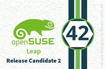 Segundo e último Release Candidate do openSUSE Leap 42.2 já está disponível!