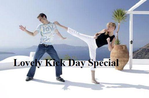 kick day instagram image