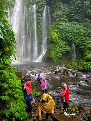 Air terjun tiu kelep dan sendang gila Lombok