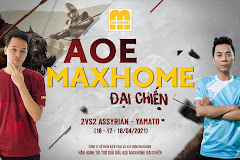 Giải đấu AoE MAXHOME Đại Chiến: Chờ màn so tài Chim Sẻ - BiBi
