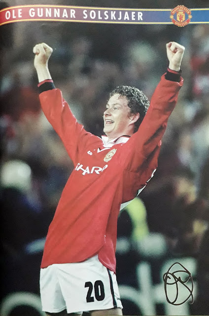 PIN UP OLE GUNNAR SOLSKJAER (MANCHESTER UNITED)