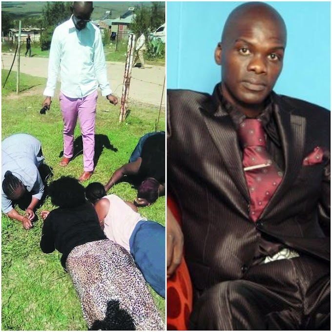 WATCH: Pastor Lesego Daniel Makes Congregation Eat Grass To Be Closer To God in Mpumalanga