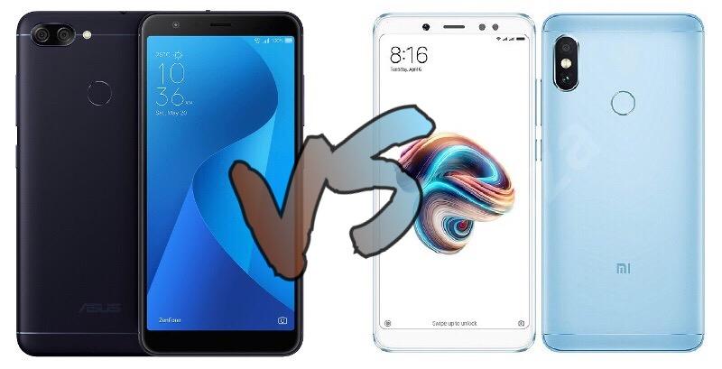 ASUS ZenFone Max Pro M1 versus Xiaomi Redmi Note 5