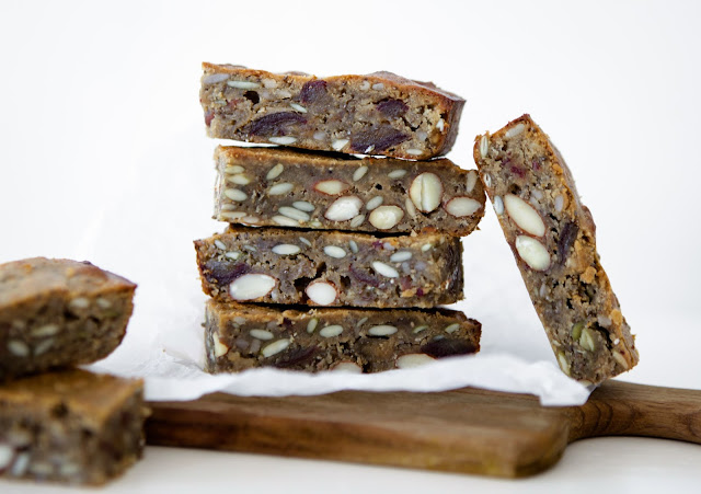 Grain Free Energy Breakfast Bars (Paleo, GAPS with Nut Free Option)