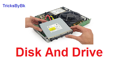 whats is a disk and drive