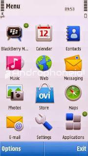 Cara BBM-an di HP Nokia Java & Symbian Jadul