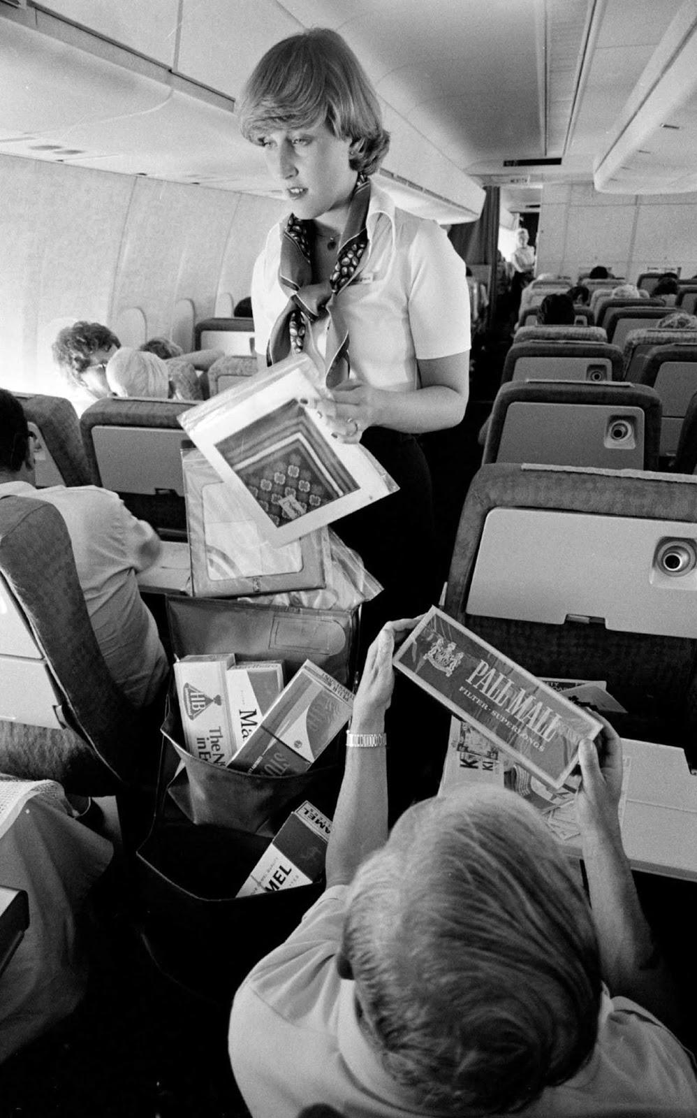 flying first class 1960s%2B%25288%2529 - Voando na primeira classe na década de 60