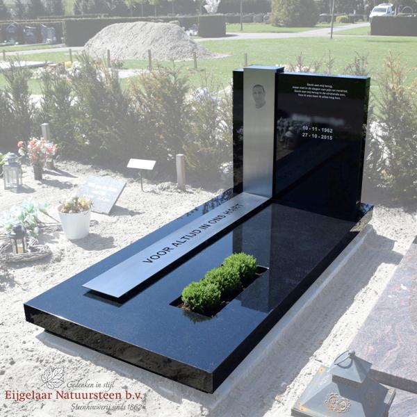 grafsteen met rvs