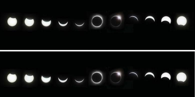 9 Mac 2016 Berlakunya Gerhana Matahari
