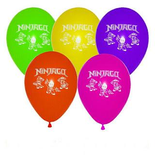 Воздушный шарик Ниндзяго