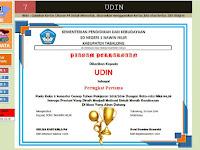 Aplikasi Pembuatan Piagam Penghargaan Juara Kelas Gratis
