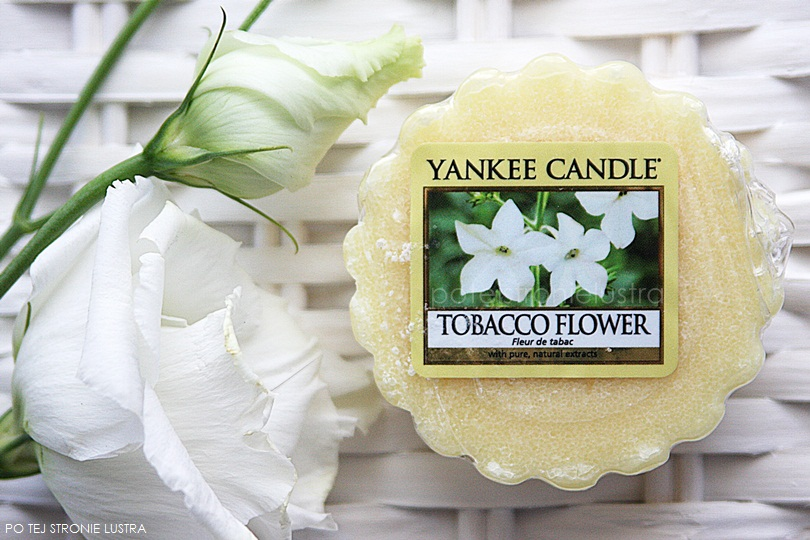 wosk yankee candle tobacco flower