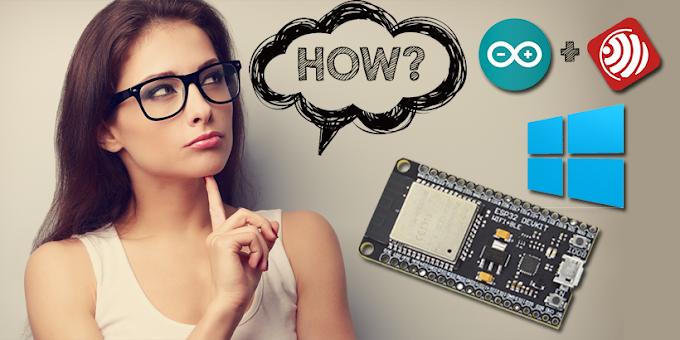 Cara Mudah Install Board ESP32 di Arduino IDE Windows