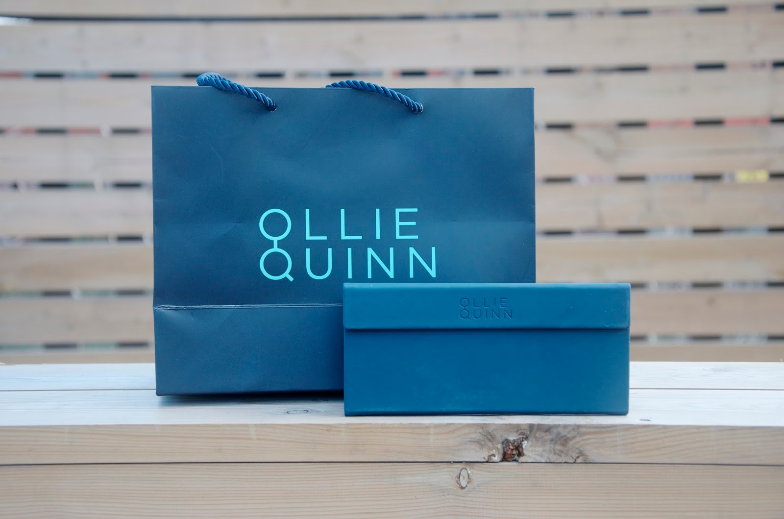Ollie Quinn Shopping Bag & Glasses Case
