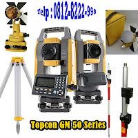 Jual Total Station Topcon GM 52 Pengganti ES 62 Call 0812-8222-998