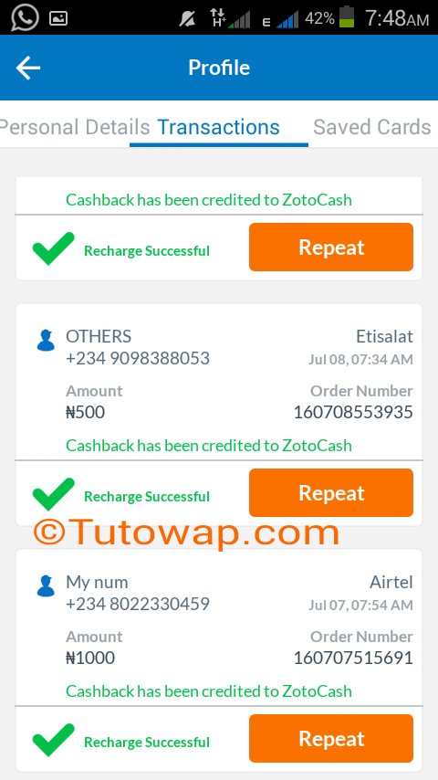 ZOTO Free Airtime App Is Still Dashing N1000 To People: Get Yours