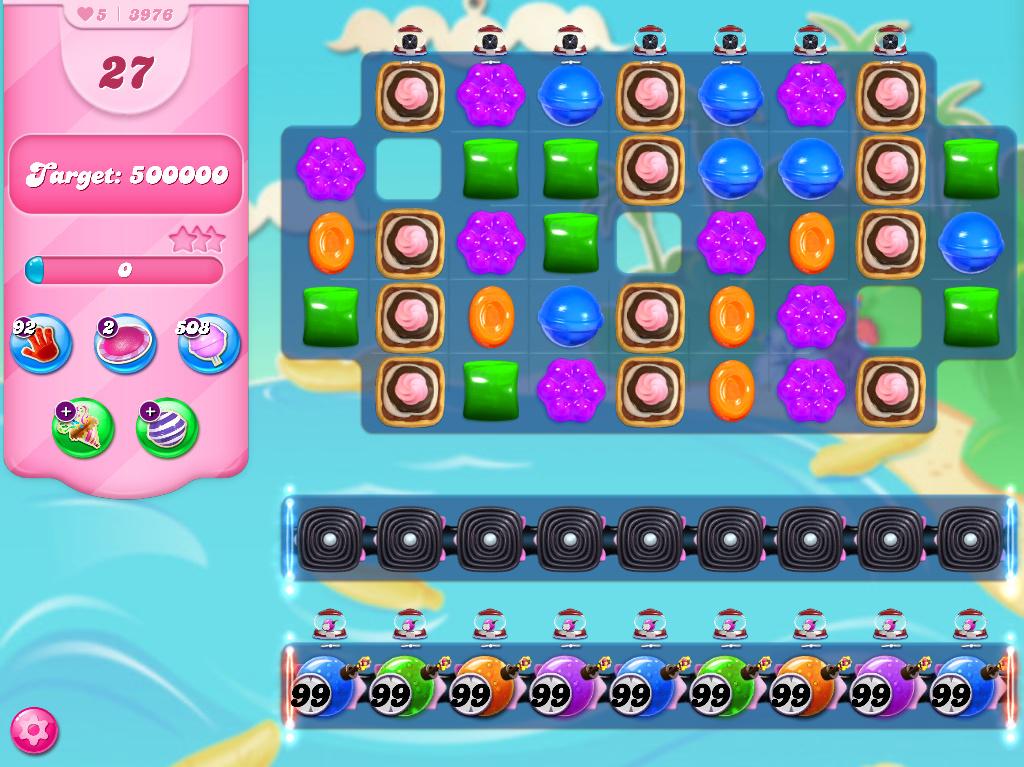 Candy Crush Saga level 3976