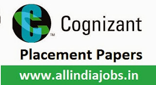 Cognizant Placement Papers