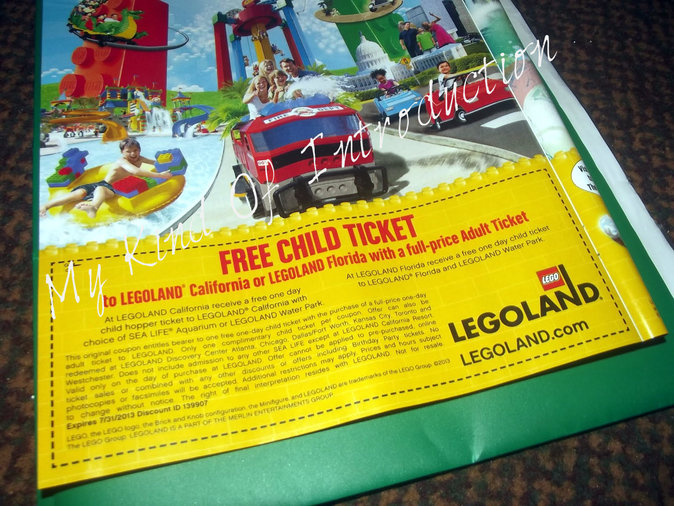 Legoland offers a variety of ticket options to help you save money. Purchase the annual pass that best fits your needs and you will be able to visit all year long with special discounts on dining, merchandise and events at the park.