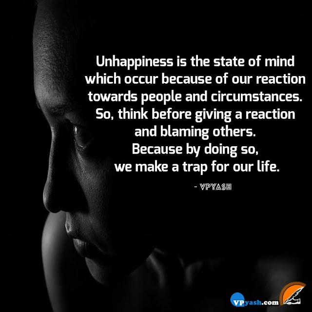 UnHappiness Thoughts