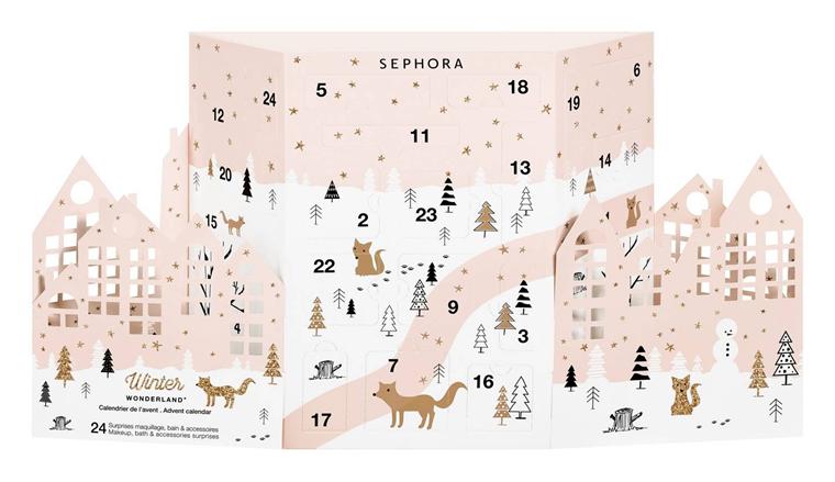 Kalendarz adwentowy Sephora Winter Wonderland 2017