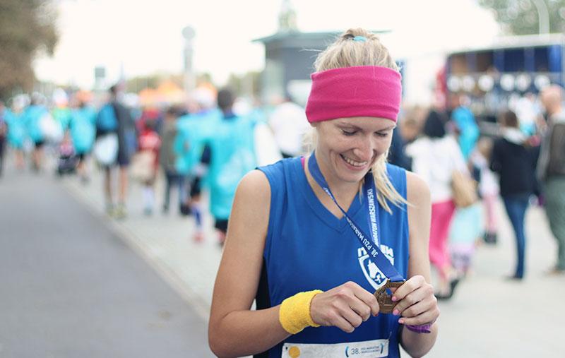 medal warsaw marathon