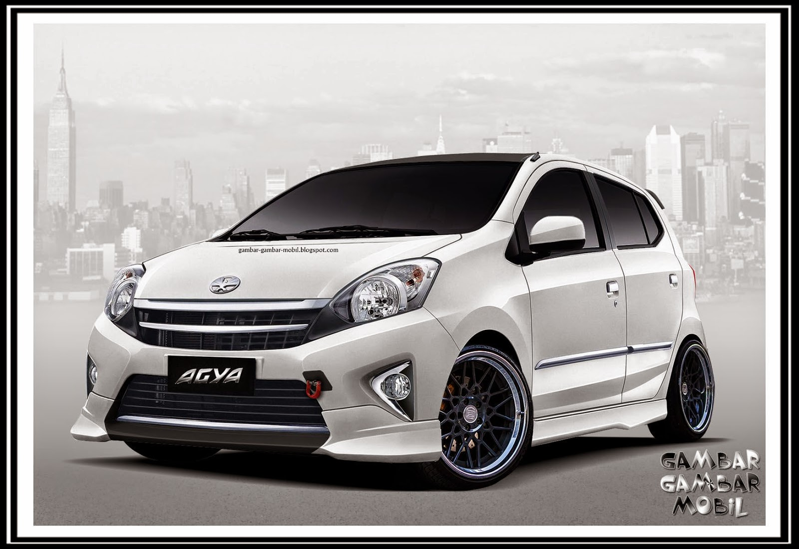 Toyota New Agya Trd Top Speed Grand Veloz Gambar Mobil
