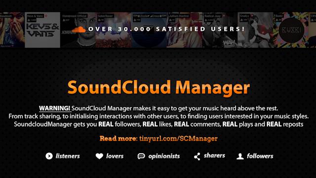 soundcloud manager