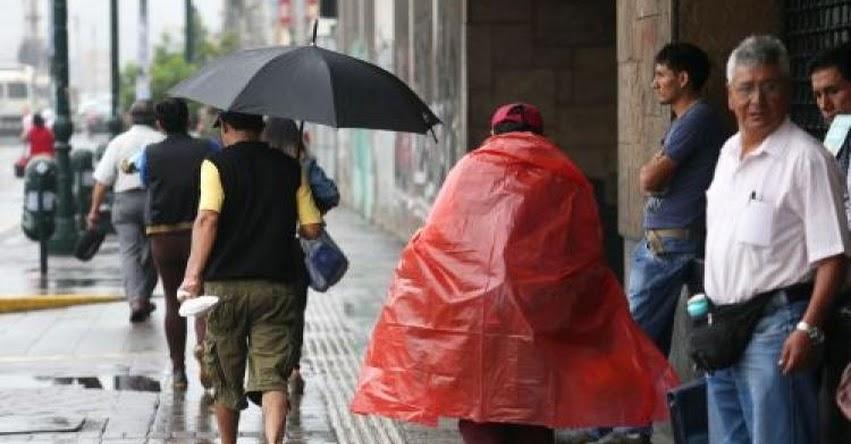 Se acabó el brillo solar en Lima. Jueves y viernes habrá lloviznas, informó el Servicio Nacional de Meteorología e Hidrología - SENAMHI - www.senamhi.gob.pe