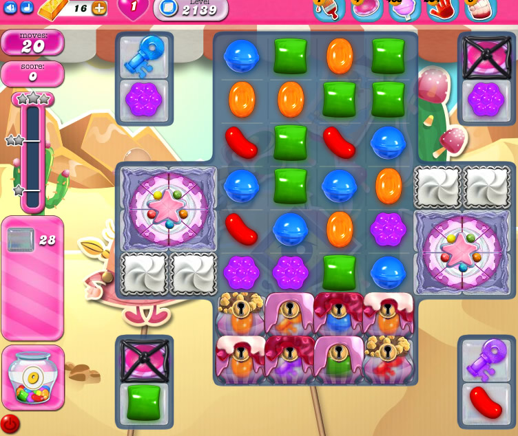 Candy Crush Saga level 2139