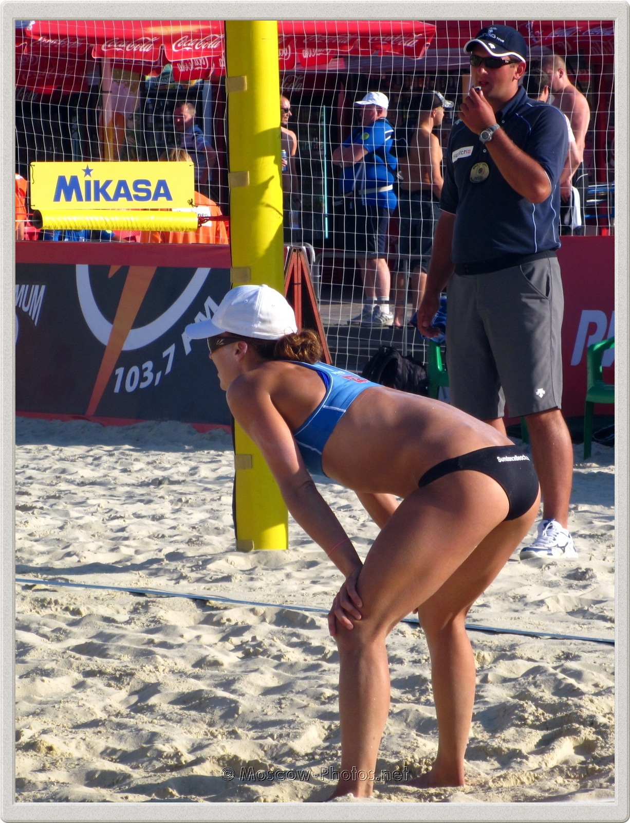 Beach Volleyball Player Brooke Hanson