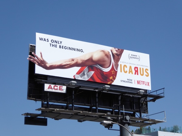 Icarus relay runner billboard