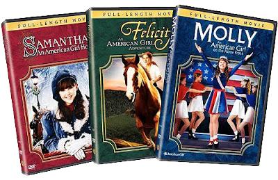 American Girl dvds