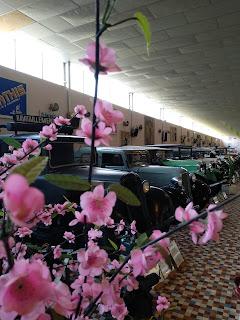 Vision general de los clasicos del musee automobile de la vendee